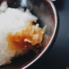 米を掻き込みたくなる衝動と、掻き込むべき米