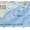 2017年10月15日 06時03分 三重県南東沖でM3.7の地震