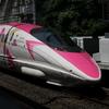 話題のハローキティ新幹線を撮りに行ってきました