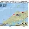 2016年12月10日 09時09分 島根県西部でM3.5の地震