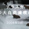 アラスカ 夏の大自然満喫の旅(2008年7月)