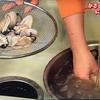 3分クッキング【かきとエリンギのにんにくバターソテー】【ゆでキャベツとベーコンのサラダ】レシピ