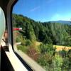 オスロから8時間のベルゲン鉄道の旅が終わりました