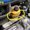 冷却水タンク交換@R53COOPER-S