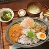 【喫茶オルタナ】カレーとルーローハンが一皿で楽しめるあいがけランチ(尾道市)