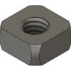 Fusion360で、M4 四角ナット(7mm角)をモデリングした。