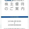 GMOインターネット(9449)から株主優待が届きました(2017年12月末日銘柄)