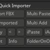 指定したサブツールに直接FBXメッシュを転送するZbrush用プラグイン「YT Quick Importer」の使い方