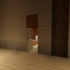 オレンジ色の部屋