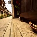 路地裏から哀愁の京都へ