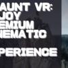 【PSVR】海外版デモ【Jaunt VR: Enjoy Premium Cinematic VR Experiences】を遊んでみての感想と評価!