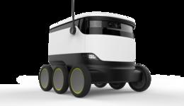 エストニアでは既に、ロボットが荷物を配達している