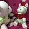 ぬいぐるみさん達のクリスマス準備☆*:.。. o(≧▽≦)o .。.:*☆