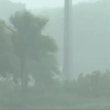 ライブカメラ!屋根が吹き飛ぶ!台風16号伊豆諸島、八丈島、大島の様子