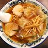 「つづみそば 」の「ワンタン麺」
