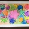 Art 桜モチーフのデザイン画