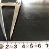 レザークラフト:練習編 床面を磨く 穴を空ける・糸を通す