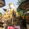 タイ・バンコク:クルーズでアユタヤ観光⑦エレファント・ライド