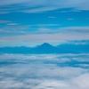 九州方面に飛行機で行ったら富士山が素敵だった