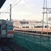 京都駅にて 奈良線105系とKTRの車両