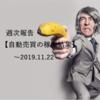 【週報】自動売買の運用実績 2019.11.22現在