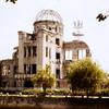 38年前に撮影した原爆ドーム