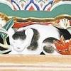 薄目開けていた「眠り猫」、本来の姿に塗り直し
