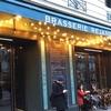 パリのオペラ座近くブラッスリーでランチ