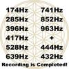 ソルフェジオ周波数9つ+2つの周波数全てレコーディング完了!それぞれの効果について。