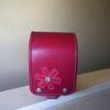 工房系、お花のミニランドセル、赤