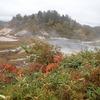 八幡平)秋田県 後生掛自然研究路。紺屋地獄、大泥火山、大湯沼。