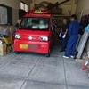 地域での活動の第一歩で消防団に入団しました。