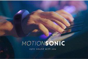 ソニー、体の動きでエフェクトを操るMotionSonicのクラウドファンディングを募集開始