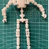 ロボットの骨格を作る 試作5号機をThingiverseに登録