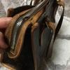 ヴィトン ポパンクール オの修理;「ファスナーの破れ 両サイドのパイプ部分(皮部分)の破れ」・・・K's factory