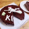 魔女宅のキキのケーキ in チョコムース