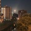 第581回blog♪朝の名月😅