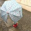 木製ハンドルの上品な子ども用傘〜MIRUM ミールムの手開き傘