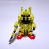 【アイロンビーズ3D】アニメ「機動戦士Ζガンダム」より、MSN-00100 百式