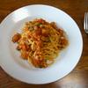 シーフードミックス のパスタ①トマトソース
