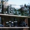 温泉街のオールドカメラ