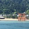 厳島神社と海の風景
