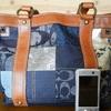コーチのバッグの修理;「気に入っているので斜めがけに出来るようにストラップを作って・・」    ・・・K's factory