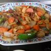 幸運な病のレシピ( 1052 )朝:酢豚、鳥手羽唐揚げ、イモ天、豚バラブロックの醤油照り焼き(リヨー風)、味噌汁