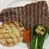 ストウブグリルパンでおいしいステーキ 調味料はオリーブオイルと塩だけ!