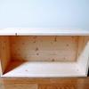 SPF集成材でリンゴ箱をDIY。箱を重ねることで、スタッキングできる棚として使うことが出来ます。