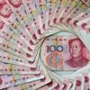中国元の定期預金を上積み