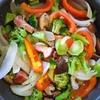 野菜とベーコンの蒸し焼き