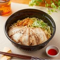 ラー油のかけすぎにご注意ください!暑い夏にファミマのあっさり系チャーシュー麺!