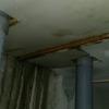 ジプトーンパテ塗り・昨日の下水トラブルの続き